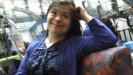 Arianna sitting at CHOP