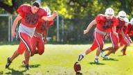 Brett Playing Football