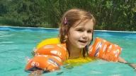 Dandelion swimming