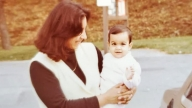 Aliya as a baby