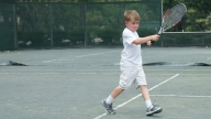 sean playing tennis
