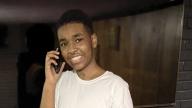 Makai talking on the phone