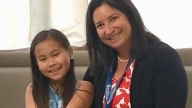 Jenny with Congenital Hyperinsulinism Center team member Diva