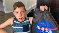 Eli and his special gift from NASA