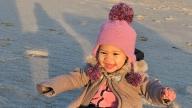 Eva smiling
