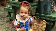 Alissa dressed as Snow White