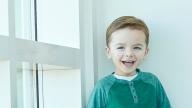 Garrett smiling
