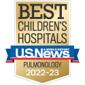 US News Pulmonology badge