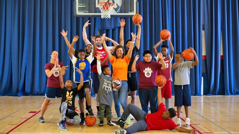 All-In Basketball group photo