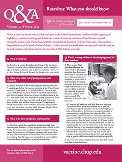 Rotavirus Fact Sheet