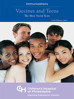 Vaccines and Teens Booklet