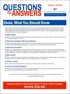Special Topics Fact Sheet
