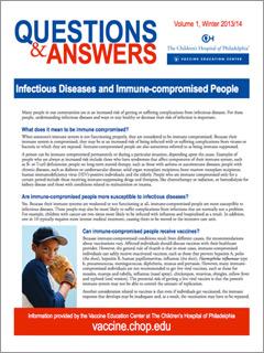 Infectious Diseases Fact Sheet