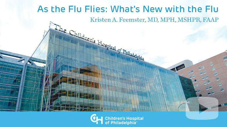 As the Flu Flies: What's New with the Flu