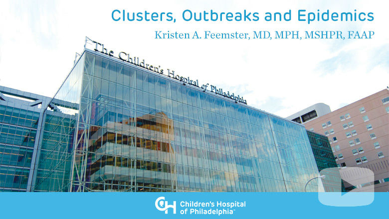 Clusters, Outbreaks and Epidemics