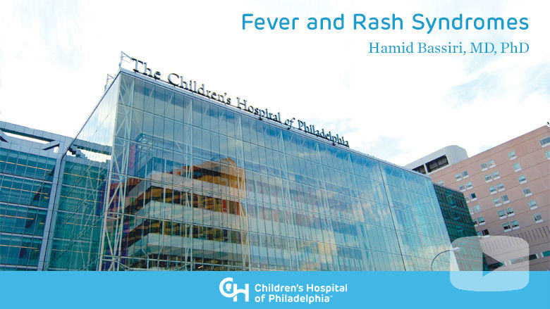 Fever and Rash Syndromes