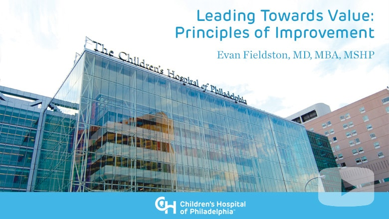 Leading Towards Value: Principles of Improvement