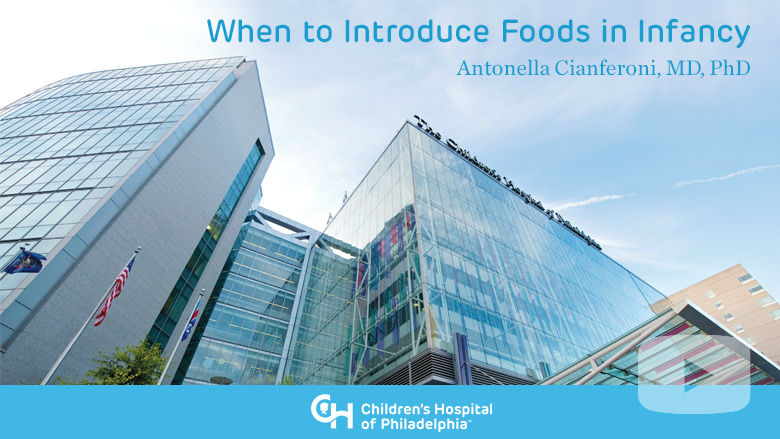 Allergy and Immunology – When to Introduce Foods in Infancy