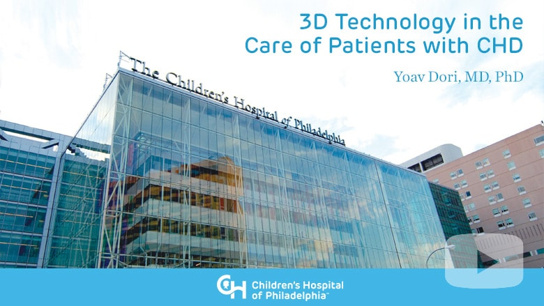 3D Technology in the Care of Patients with CHD