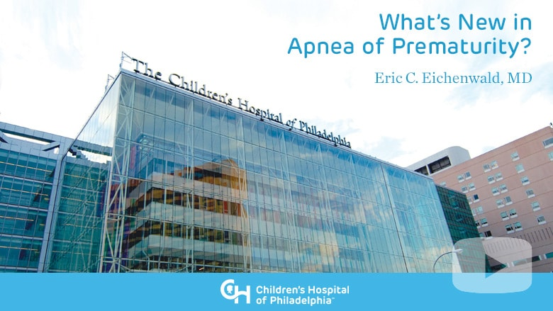 Neonatology – What's New in Apnea of Prematurity?