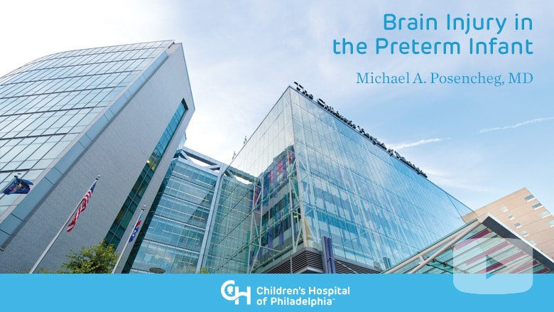 Neonatology – Brain Injury in the Preterm Infant