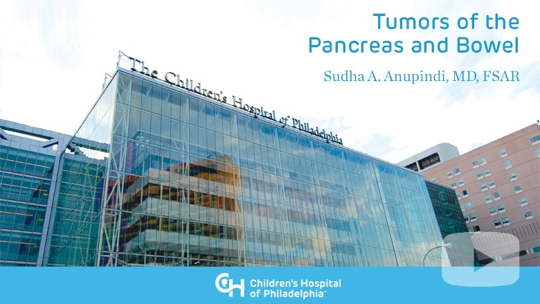 Radiology – Tumors of the Pancreas and Bowel